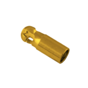 Tube key 750/- yellow gold