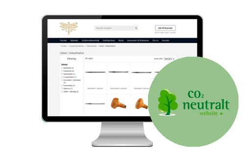 CO2-neutraliseret website