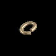 Oval øsken doublé