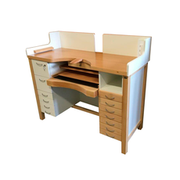 Work bench for goldsmiths, white