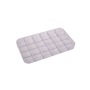 Plastic storage inserts with 24 compartments