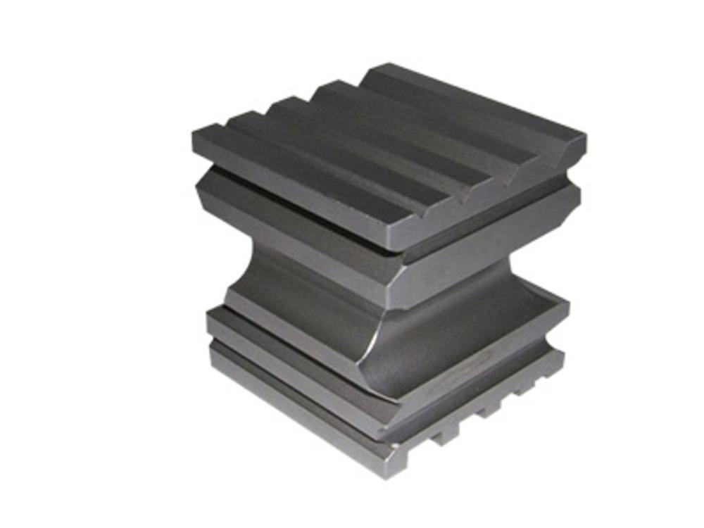 Steel bench block, multi shape cube