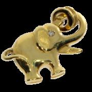 Blank elefantlås 585/-