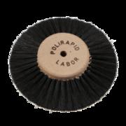 Black pointed lathe brush
