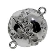 Magnet-kuglelås 925/-, 14 mm