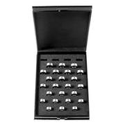 Ringmål i sort kasse