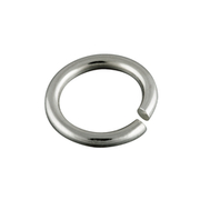 Round jump ring 585/- white gold