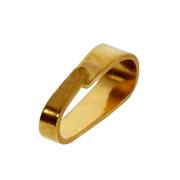 Small pendant bail 585/- yellow gold