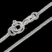 Ankle bracelet venetian box diamond cut 925/-