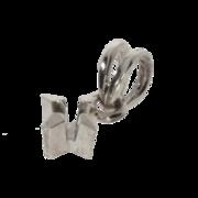 Vedhæng med 4 greb 585/- hvidguld