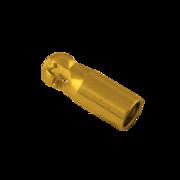 Tube key 750/- yellow gold