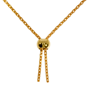 Adjustable clasp 925/- gold plated